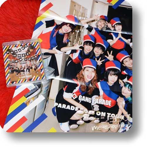 GANG PARADE - PARADE GOES ON TOUR (Live-Blu-ray) +Bonus-Promoposter!-0