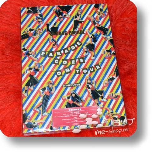 GANG PARADE - PARADE GOES ON TOUR (lim.Boxset 2-Blu-ray+100s.Photobook) +Bonus-Promoposter!-29604