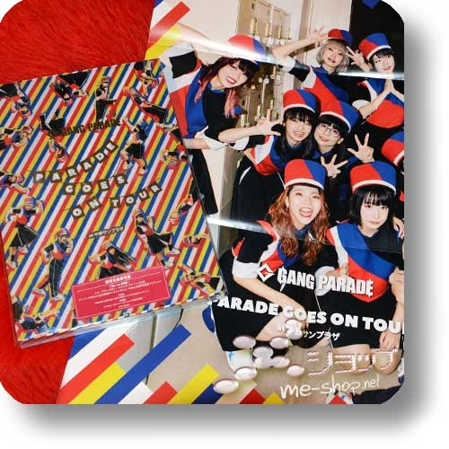 GANG PARADE - PARADE GOES ON TOUR (lim.Boxset 2-Blu-ray+100s.Photobook) +Bonus-Promoposter!-0