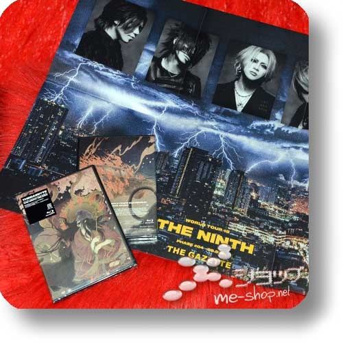 THE GAZETTE - LIVE IN NEW YORK&WORLD TOUR19 DOCUMENTARY THE NINTH [99.999] (Blu-ray) +Bonus-Promoposter!-0