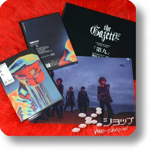 THE GAZETTE - LIVE TOUR18-19 THE NINTH / FINAL [Dai 9] LIVE AT 09.23 YOKOHAMA ARENA (Blu-ray) +Bonus-Clearfile!-0
