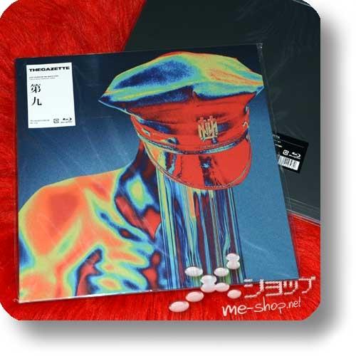 THE GAZETTE - LIVE TOUR18-19 THE NINTH / FINAL [Dai 9] LIVE AT 09.23 YOKOHAMA ARENA (lim.LP-sized Box Blu-ray+Photobook) +Bonus-Clearfile!-29794