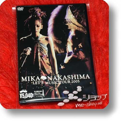 MIKA NAKASHIMA - LET'S MUSIC TOUR 2005 (Live-DVD) (Re!cycle)-0