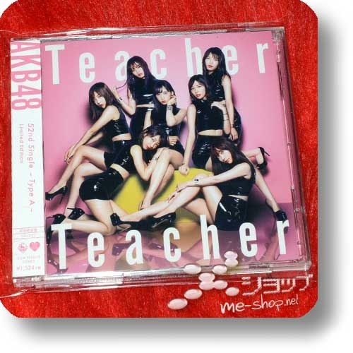 AKB48 - Teacher Teacher (lim.CD+DVD A-Type) (Re!cycle)-0