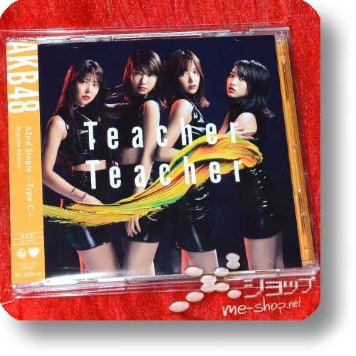 AKB48 - Teacher Teacher (Regular Edition CD+DVD C-Type) (Re!cycle)-0
