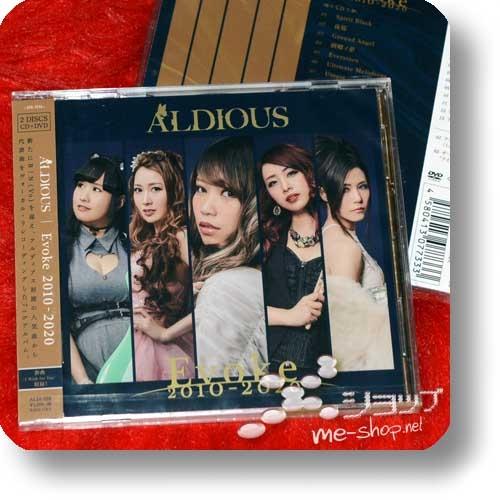 ALDIOUS - Evoke 2010-2020 (lim.CD+DVD)-0