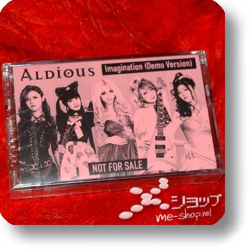 ALDIOUS - Imagination (Demo Version) (lim.MC/Demo-Cassette / live only!)-0