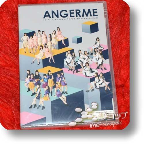 ANGERME - Manner Mode / Kisokutadashiku Utsukushiku / Kimi Dake ja nai sa...friends (Single-DVD inkl.Photobooklet! / S/MILEAGE)-0