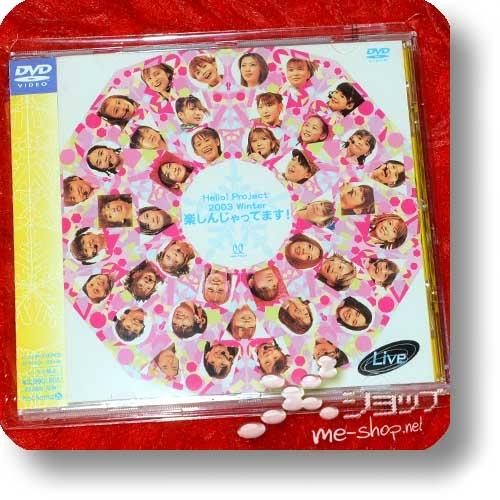 HELLO! PROJECT - 2003 Winter ~Tanoshinjattemasu! (Live-DVD / MORNING MUSUME, MiniMoni, Country Musume...) (Re!cycle)-0