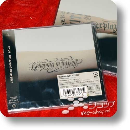 HYDE - BELIEVING IN MYSELF / INTERPLAY (+Bonus-Promoposter!)-0
