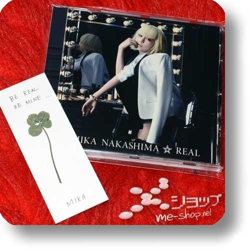 MIKA NAKASHIMA - REAL (+Bonus-Lesezeichen!) (Re!cycle)-0
