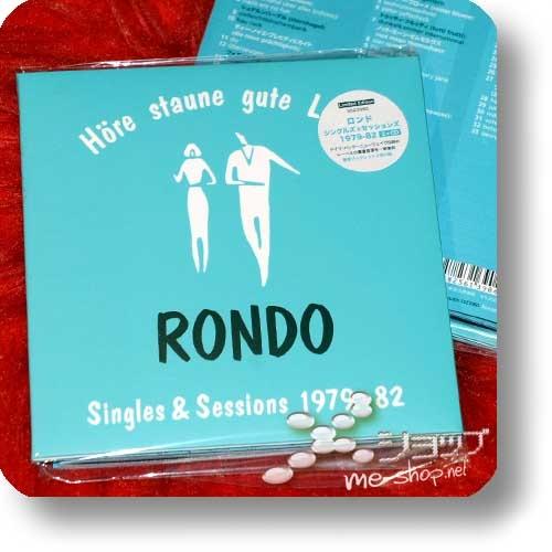 Höre staune gute Laune RONDO Singles & Sessions 1979-82 (2CD+Booklets / lim.300!) +Bonus-DVD+Postkarte!-29877