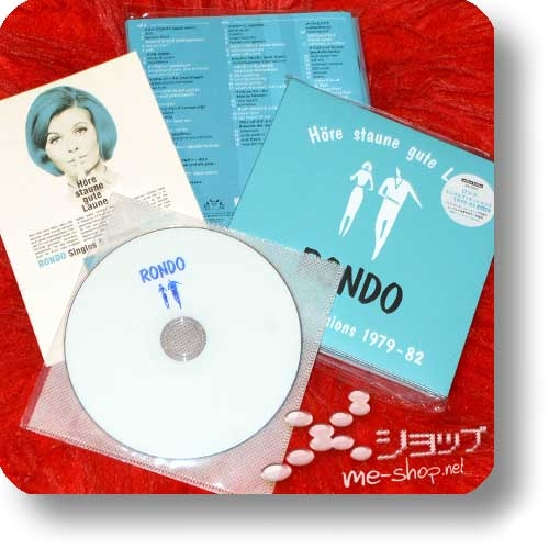 Höre staune gute Laune RONDO Singles & Sessions 1979-82 (2CD+Booklets / lim.300!) +Bonus-DVD+Postkarte!-0