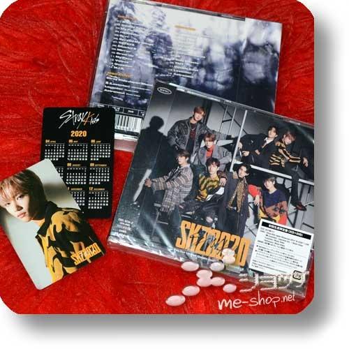 STRAY KIDS - SKZ2020 (lim.2CD+Live-DVD+Photobooklet+Tradingcard) +Bonus-Kalenderkarte!-0
