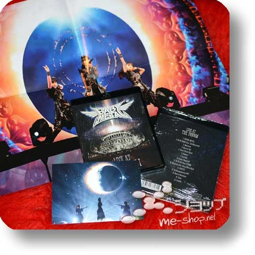BABYMETAL - LIVE AT THE FORUM (Blu-ray) +Bonus-Promoposter+Postkarte!-0
