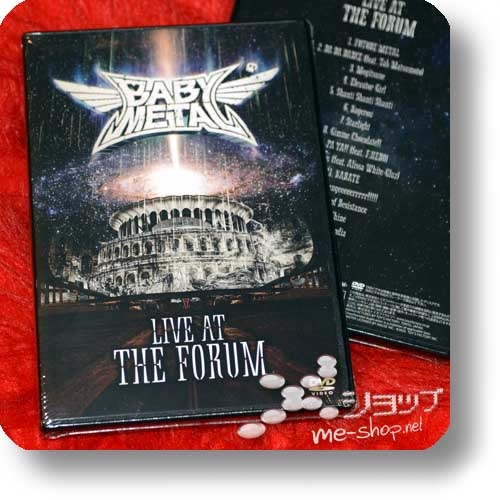 BABYMETAL - LIVE AT THE FORUM (DVD)-0