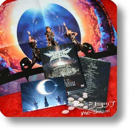 BABYMETAL - LIVE AT THE FORUM (DVD) +Bonus-Promoposter+Postkarte!-0