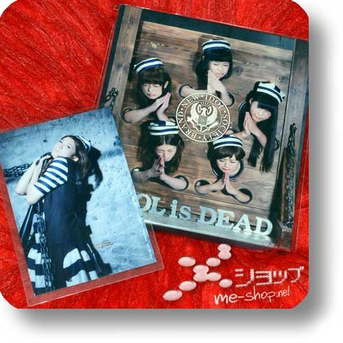BiS - IDOL is DEAD (lim.Digipak CD+DVD Music video ban inkl.Fotokarte!) (Re!cycle)-0
