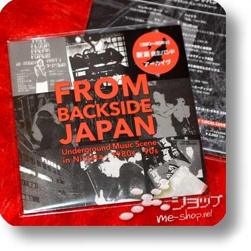 FROM BACKSIDE JAPAN - Underground Music Scene In Niigata 1980s-90s (+Bonus-CD!)-30537