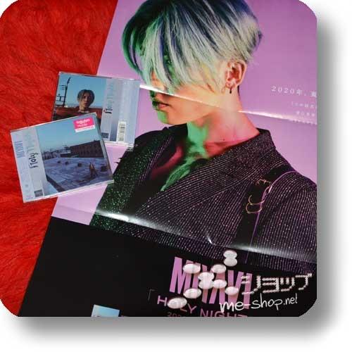 MIYAVI - Holy Nights (lim.CD+Live-DVD A-Type) +Bonus-Promoposter!-0
