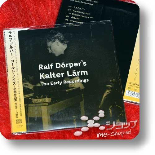 RALF DÖRPER - Ralf Dörper's Kalter Lärm - The Early Recordings (CD / lim.300!)-30492