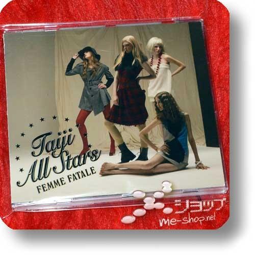 TAIJI ALL STARS - FEMME FATALE (Taiji Sawada / X Japan, feat. UA, SAKURA, hitomi, COLDFEET...) (Re!cycle)-0