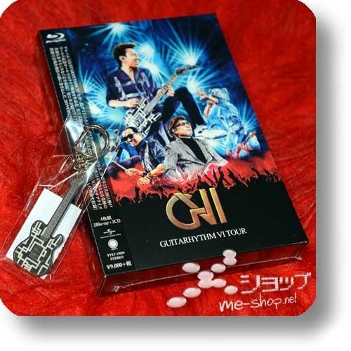 HOTEI - GUITARHYTHM VI TOUR (lim.Complete Edition Box Set 2Blu-ray+2CD) +Bonus-Schlüsselanhänger!-0