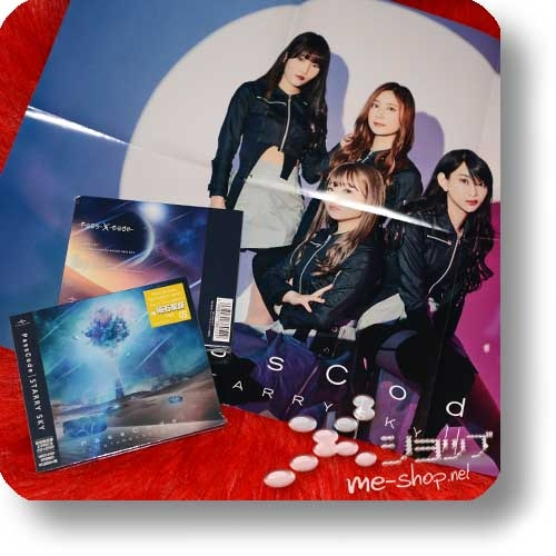 PASSCODE - STARRY SKY (lim.CD+DVD) +Bonus-Promoposter!-0