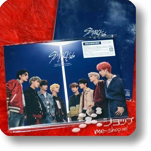 STRAY KIDS - TOP (lim.CD+SpecialZine+Photobooklet B-Type / Tower of God)-0