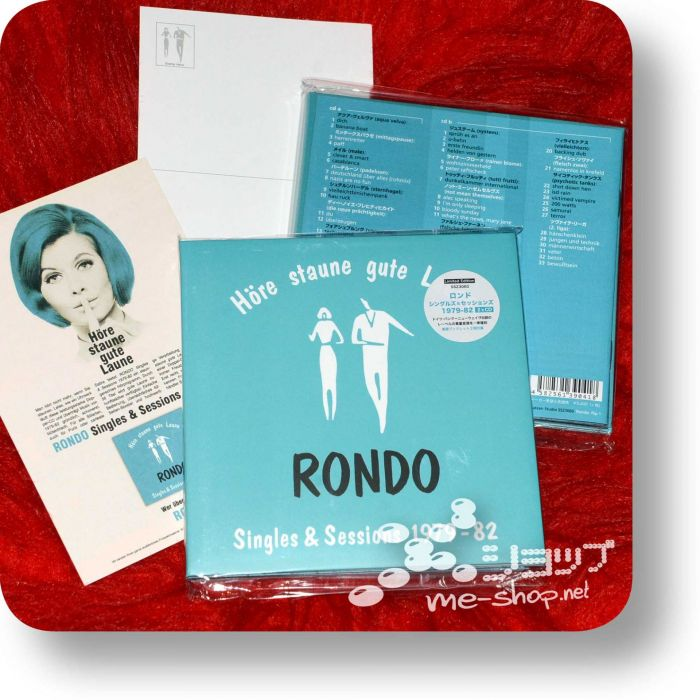 rondo singles+postkarte