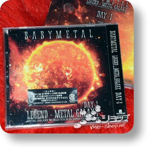 babymetal legend metal galaxy day1