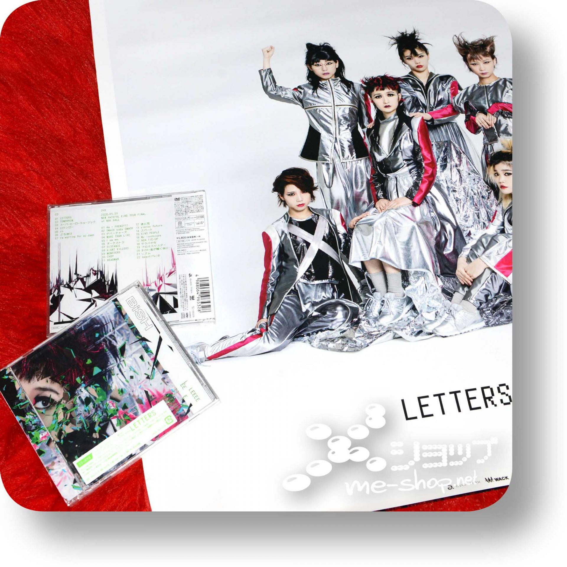 bish letters cd+dvd+poster