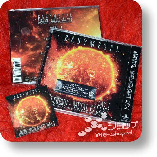 babymetal legend metal galaxy day1+bonus