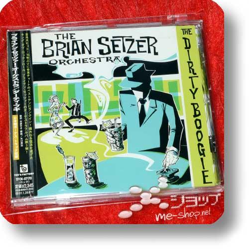 brian setzer orchestra dirty boogie