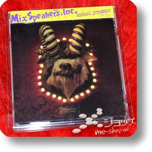 mix speakers inc animal zombies
