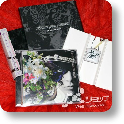 nightmare majestical parade cd+goods