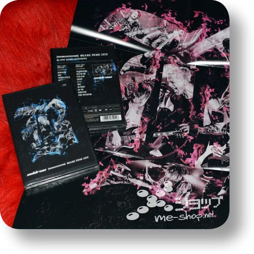 coldrain live and backstage at blare bd+poster