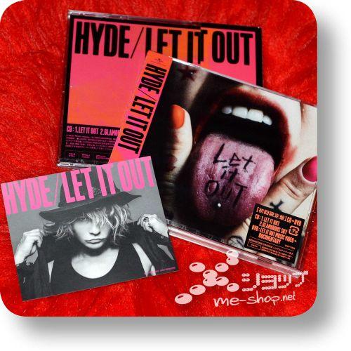 hyde let it out cd+dvd+bonus
