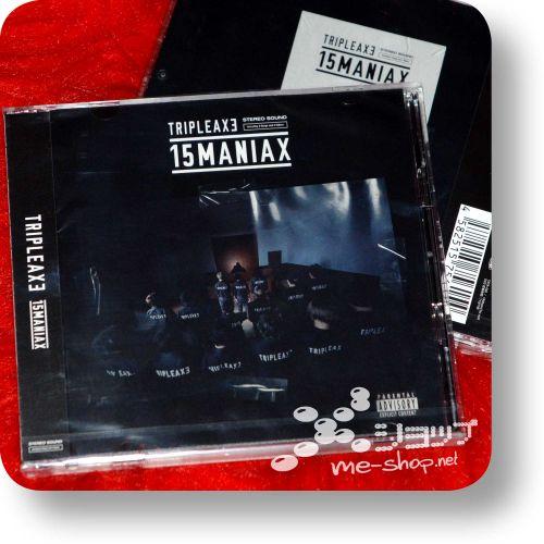 tripleaxe 15maniax cd+dvd