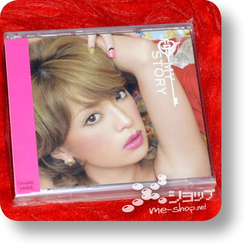 ayumi hamasaki my story cd+dvd a