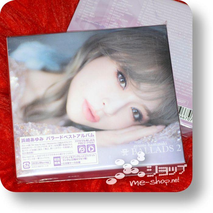 ayumi hamasaki a ballads 2 2cd+bd