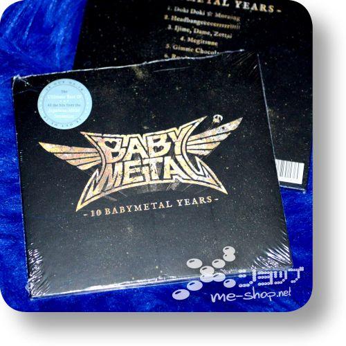 babymetal 10 babymetal years eu