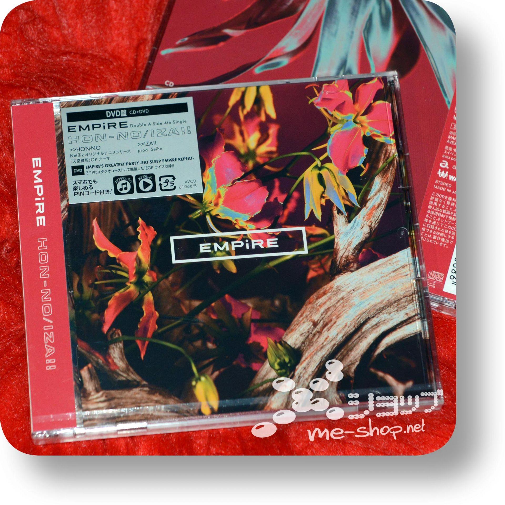 empire hon-no iza cd+dvd
