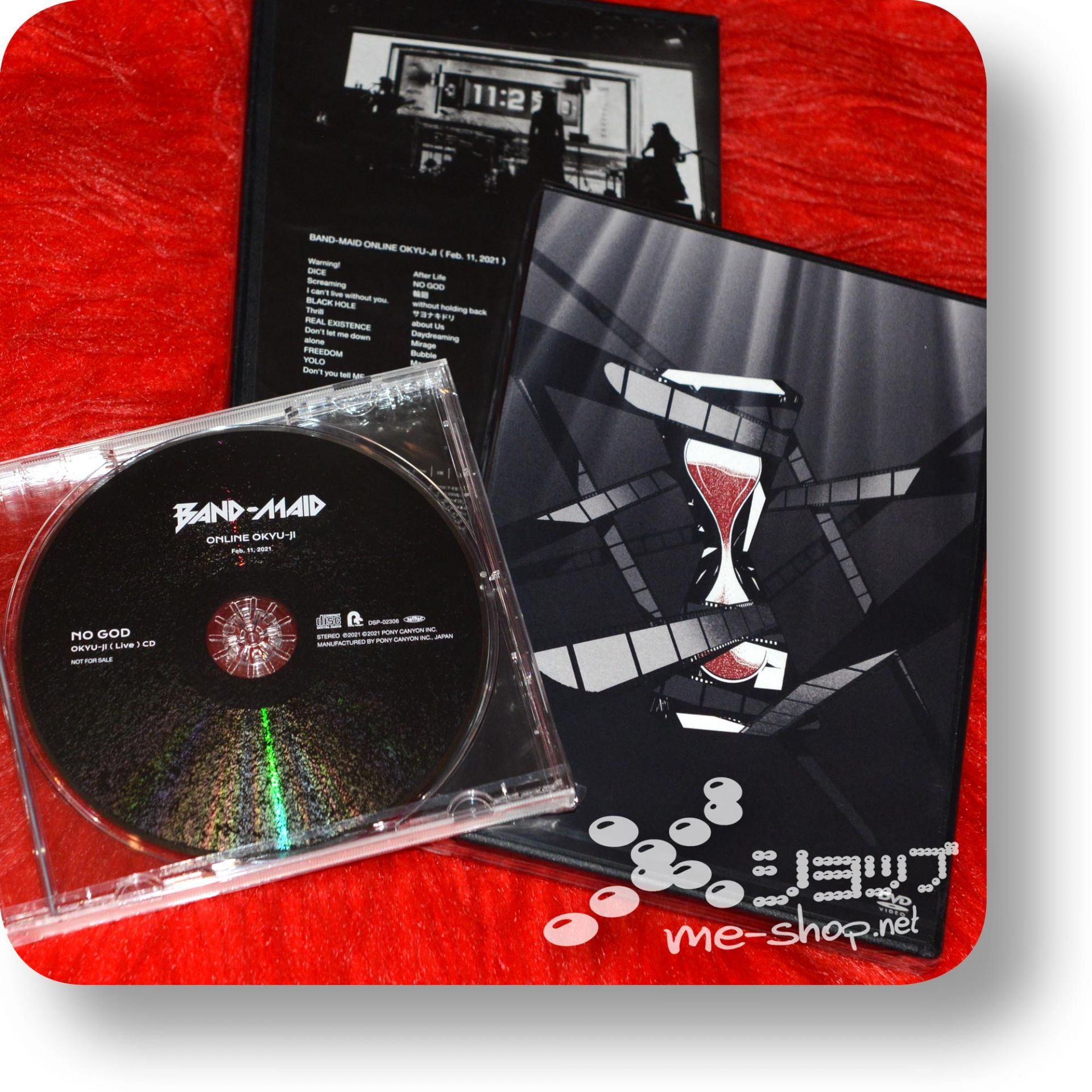 band-maid online okyu-ji dvd+bonus
