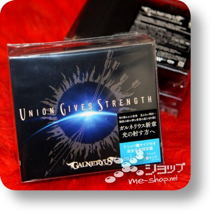 galneryus union gives stength box
