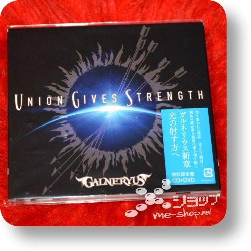 galneryus union gives stength cd+dvd