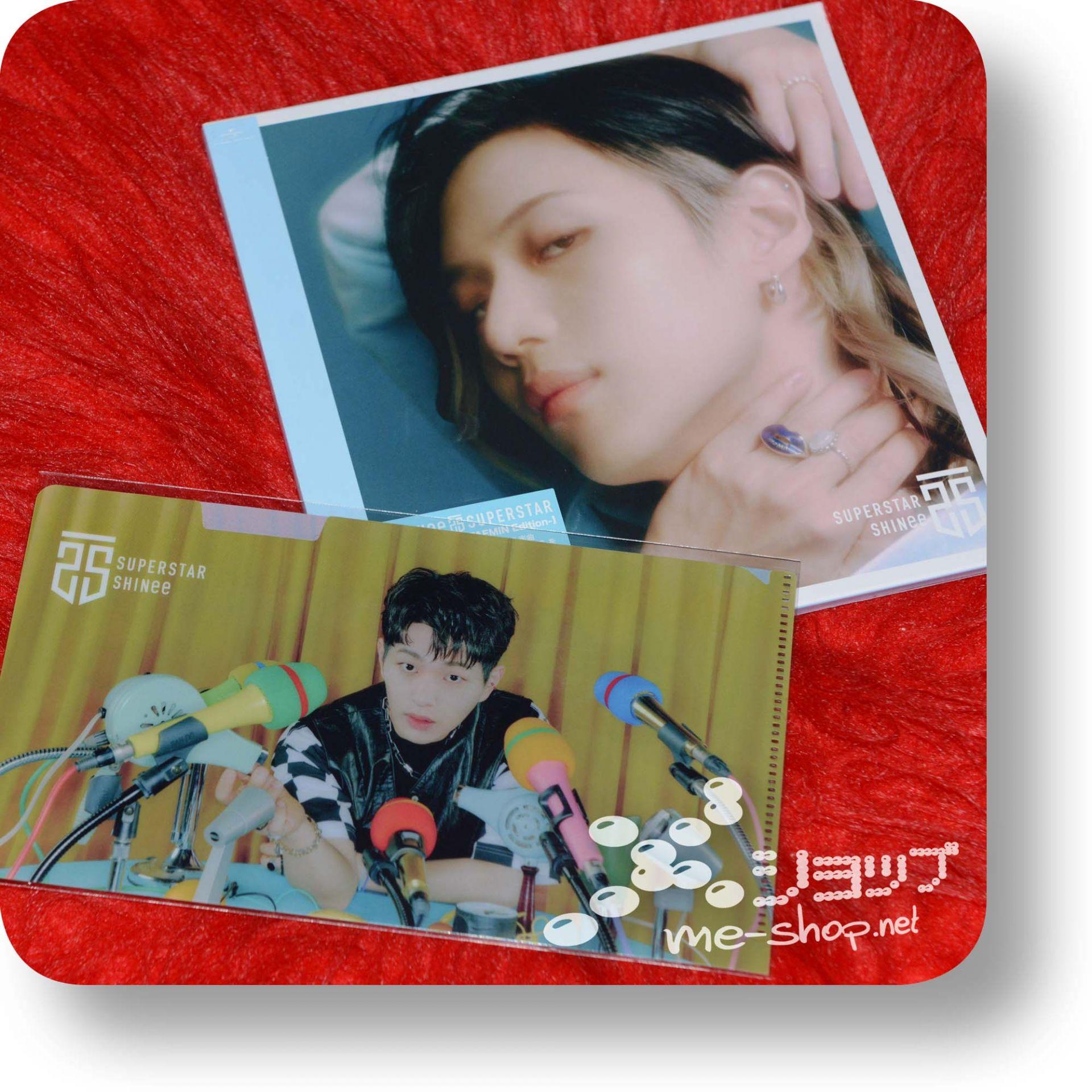 shinee superstar taemin+bonus
