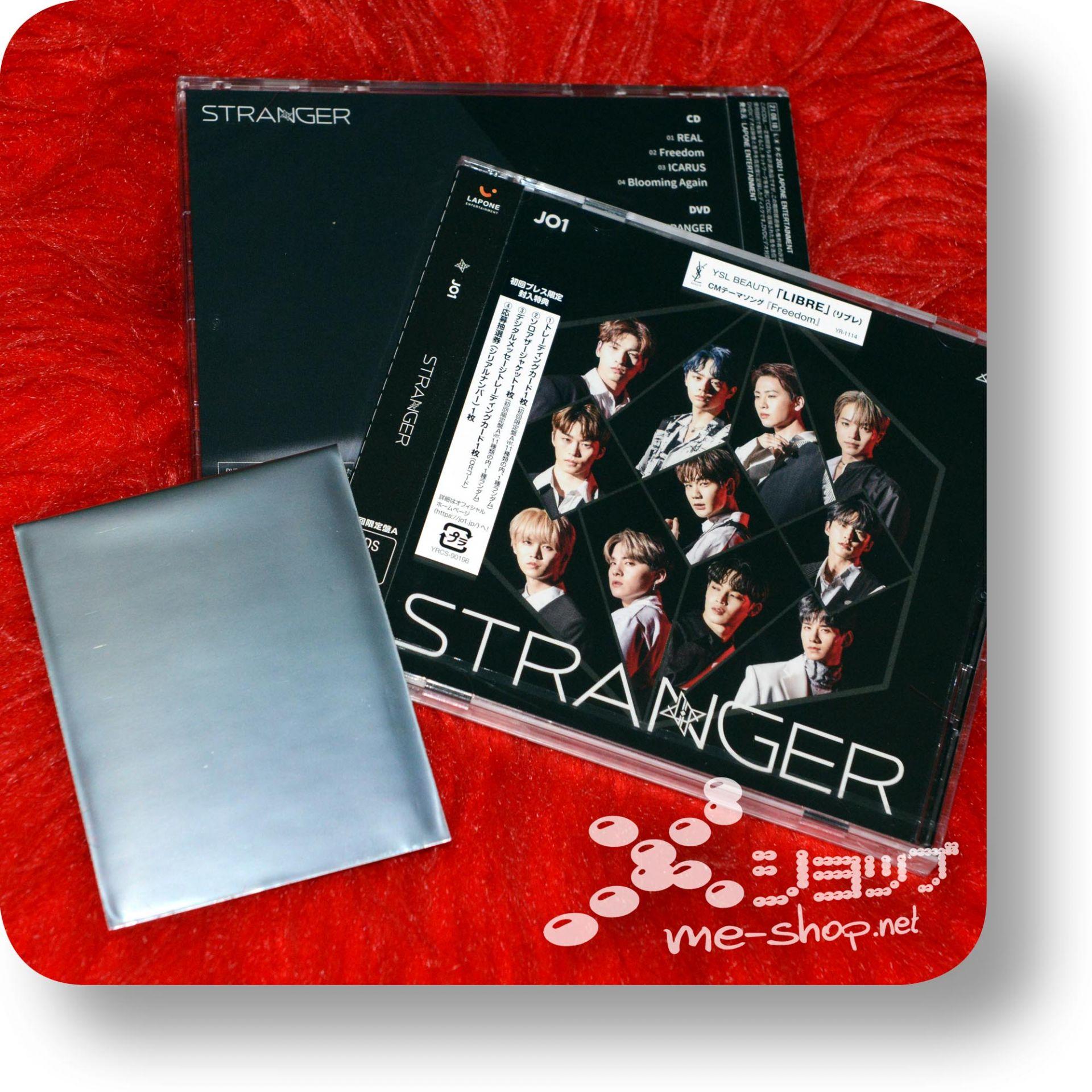 jo1 stranger cd+dvd+bonus