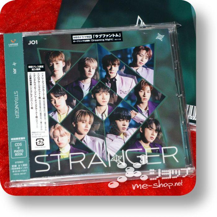 jo1 stranger cd+photobook