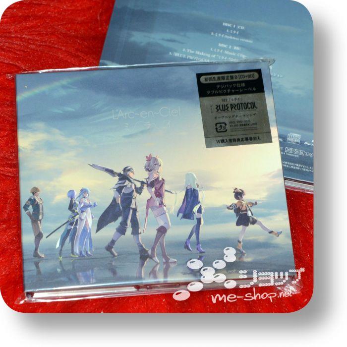 larc en ciel mirai cd+bd b